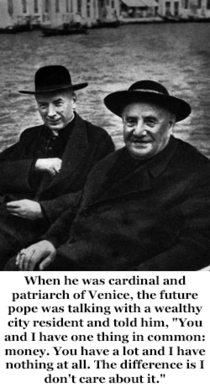 Pic #4 - Pope John XXIII is going to formally become a saint on Sunday  April  Here is a sample of his humorous quips
