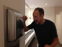 Pic #4 - So I had some stickers printed to stick on paper towel dispensers in public bathrooms