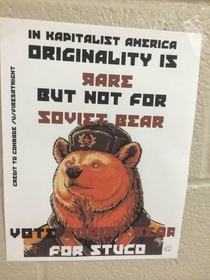 Pic #4 - Soviet Bear has struck again with a new wave of propaganda