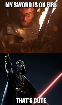 Pic #4 - Star Wars VS Game of Thrones