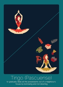 Pic #4 -  Untranslatable Words From Other Languages Illustrated By Anjana Iyer