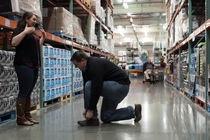 Pic #4 - We got our engagement photos taken at Costco