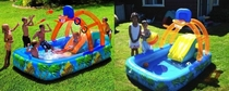 Pic #4 - Worlds smallest kids play on inflatables