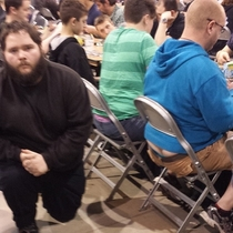 Pic #5 - I participated in one of the biggest Magic the Gathering tournaments of all time this weekend In an effort to document it I posed for pictures near people with exposed asscracks I present to you Grand Prix Richmond Crackstyle