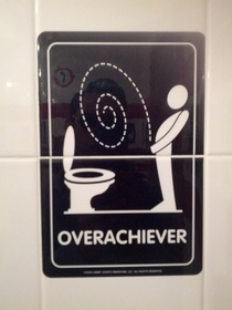 Pic #5 - Jimmy Johns asks which type of restroom user you are
