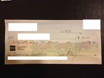 Pic #5 - My college roommates write me checks for utilities every month This is my collection for the year