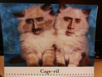 Pic #5 - My coworkers werent sure how to react to my custom-made  calendar