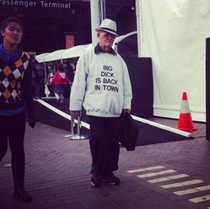 Pic #5 - Old people wearing funny shirts