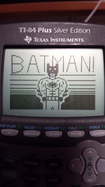 Pic #5 - Probably the most productive use of my time in my calc lectures so far