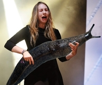 Pic #5 - Rockstars soloing with giant slugs explains the faces