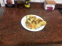 Pic #5 - So I tried to make the top dish right now in rfood Hash Brown Wrapped Eggs It didnt quite hit the mark