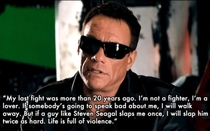 Pic #5 - Things Jean-Claude van Damme said