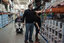 Pic #5 - We got our engagement photos taken at Costco