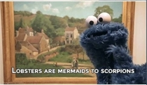 Pic #6 - Cookie Monster is a revolutionary thinker