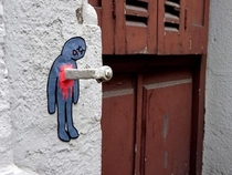 Pic #6 - Creative and Funny Street Art from OakoAk