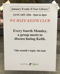 Pic #6 - I made up some fake events for my local library