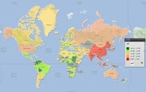 Pic #6 -  Maps They Didnt Teach You At School