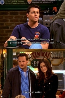 Pic #6 - The faultless logic of Joey Tribbiani