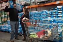 Pic #6 - We got our engagement photos taken at Costco