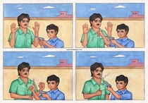 Pic #7 - Adarsh Balak ideal boy comics from India