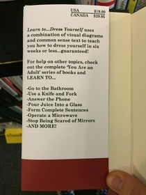 Pic #7 - I made some fake self-help books and left them at a local bookstore