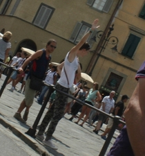 Pic #7 - I took a bunch of out of context photos while I was by the Leaning Tower of Pisa Italy