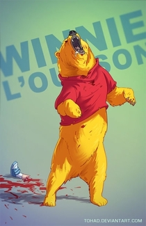 Pic #7 - If childhood characters were badass lunitics