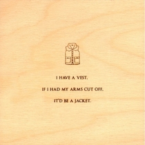 Pic #7 - Minimalist Mitch Hedberg Wood Etchings