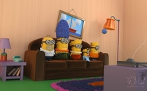 Pic #7 - The minions embodying famous characters