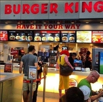 Pic #7 - Welcome to the world of fastfood