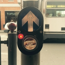 Pic #7 - Workmate put these stickers on crossing buttons around Melbourne