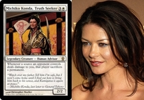 Pic #8 - Magic The Gathering cards that look frighteningly similar to celebrities