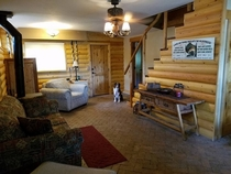 Pic #8 - My father-in-law took pictures of the cabin the whole family stayed at this weekend Their dog is in every one of these pictures