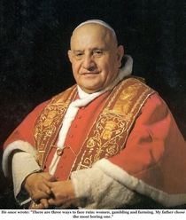 Pic #8 - Pope John XXIII is going to formally become a saint on Sunday  April  Here is a sample of his humorous quips