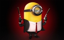 Pic #8 - The minions embodying famous characters
