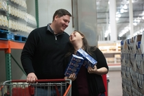 Pic #8 - We got our engagement photos taken at Costco