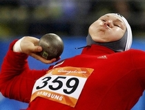 Pic #9 - A collection of shot-put faces