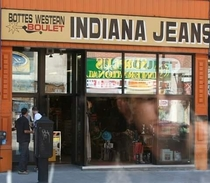 Pic #9 - Creatively named shops