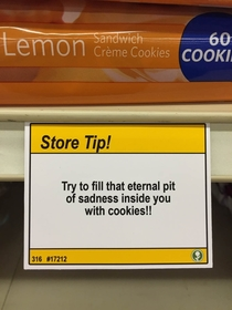 Pic #9 - I added some shopping tips to a nearby grocery store