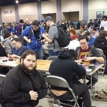 Pic #9 - I participated in one of the biggest Magic the Gathering tournaments of all time this weekend In an effort to document it I posed for pictures near people with exposed asscracks I present to you Grand Prix Richmond Crackstyle