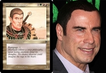 Pic #9 - Magic The Gathering cards that look frighteningly similar to celebrities