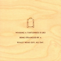 Pic #9 - Minimalist Mitch Hedberg Wood Etchings