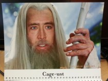 Pic #9 - My coworkers werent sure how to react to my custom-made  calendar