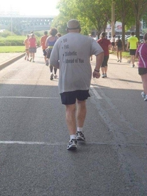 Pic #9 - Old people wearing funny shirts