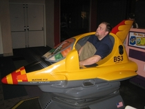 Pic #9 - Over the past few years I have been cramming myself into small childrens rides at the mall