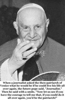 Pic #9 - Pope John XXIII is going to formally become a saint on Sunday  April  Here is a sample of his humorous quips