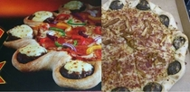 Pizza Huts cheeseburger stuffed crust Its hard to distinguish the promo pic from the real thing