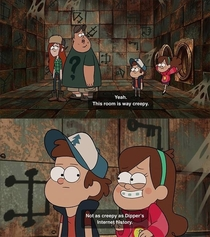 Play it cool Dipper