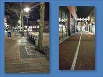 Police are looking for the guy who painted a couple kilometres long white line in a Dutch town