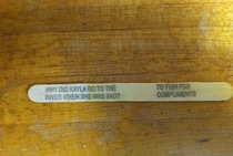 Popsicle sticks have gotten funny again